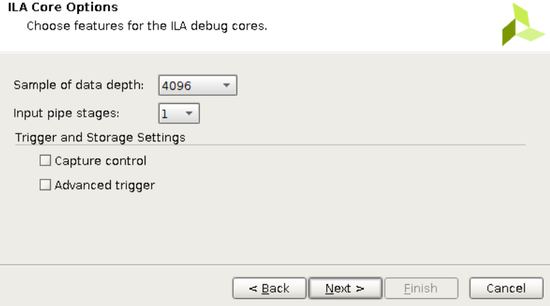 ILA core options